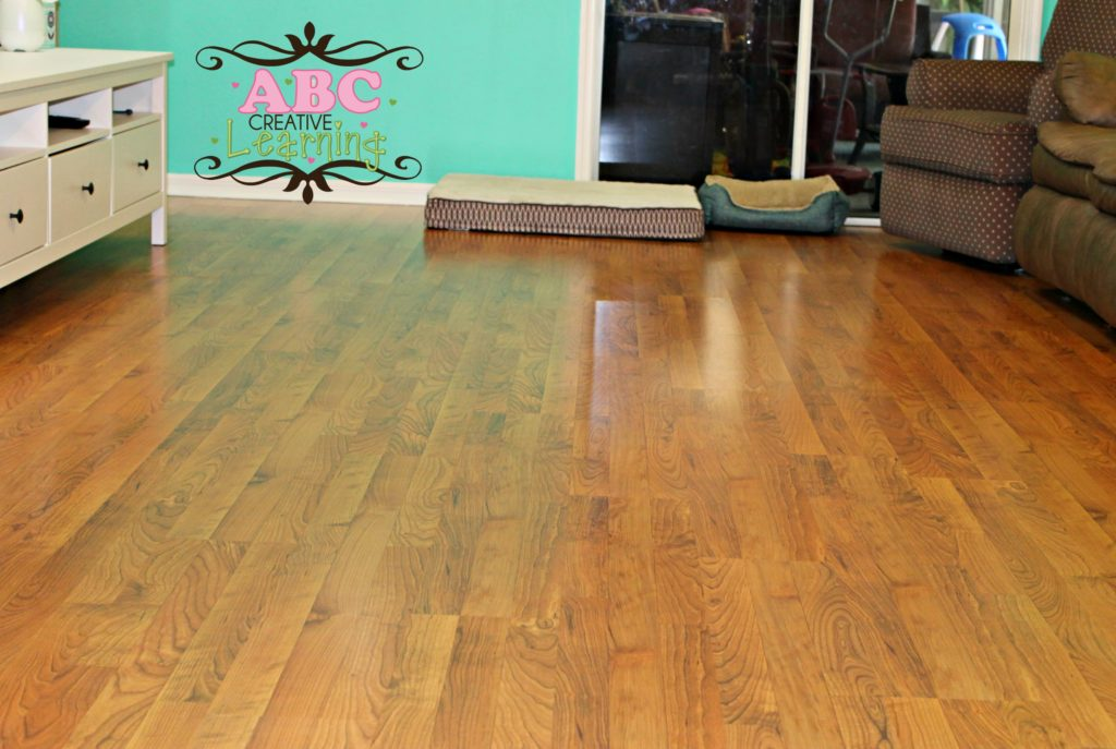 Naturally Clean Laminate Floors