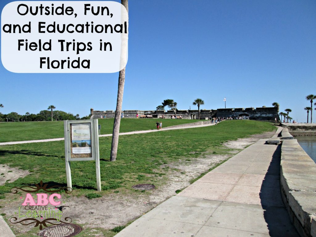Outside, Fun, and educational field trips in florida