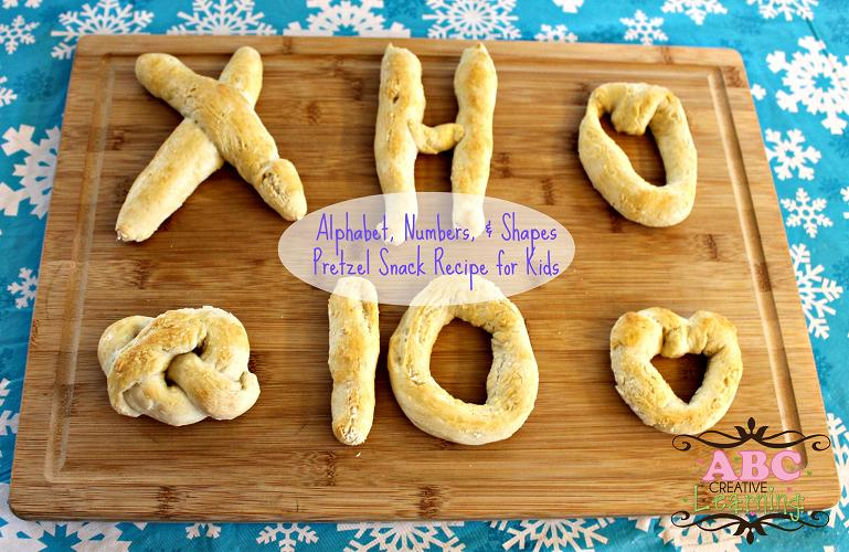 Alphabet-Numbers-and-Shape-Pretzel-Snack-Recipe-for-Kids