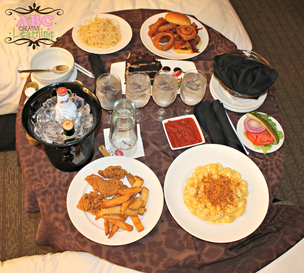 Hard Rock Dinner Room Service