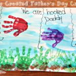 Kids Created Father's Day Craft