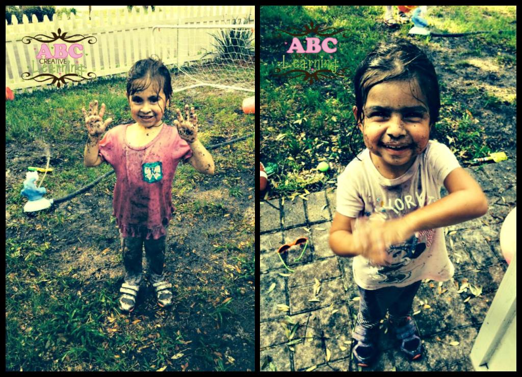 Playing in Mud Summer Bucket List
