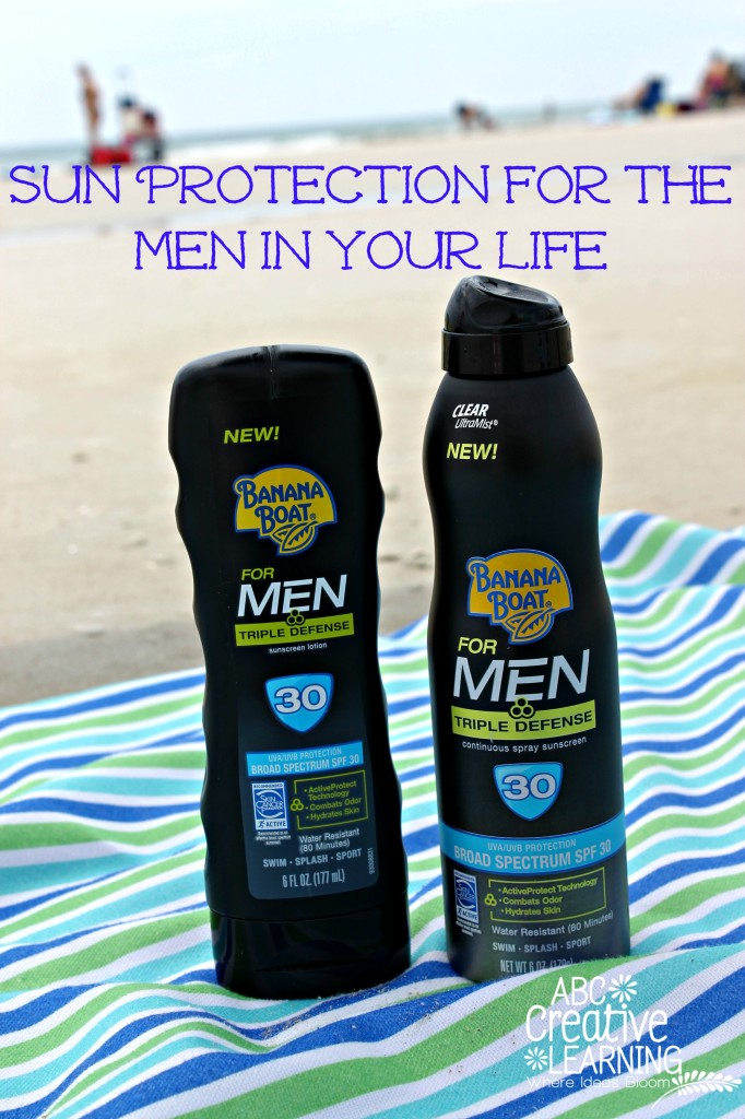 Sun Protection for the Men in your Life