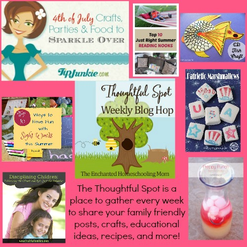 Thoughtful Spot Weekly Blog Hop Features! Family Crafts,Recipes, DIY, Home Ideas