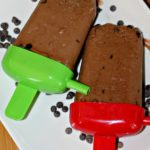 Banana Nutella Fudge Popsicles with Chocolate Chips