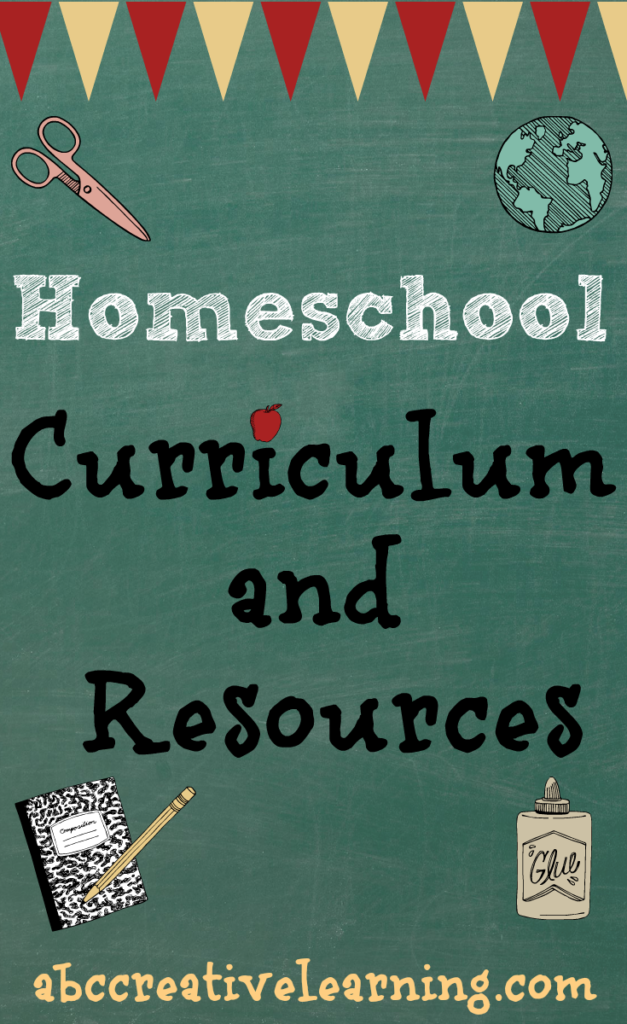 Homeschool Curriculum and Resources for 2014