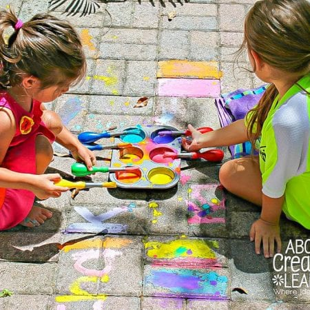 How To Make Outdoor Chalk Paint