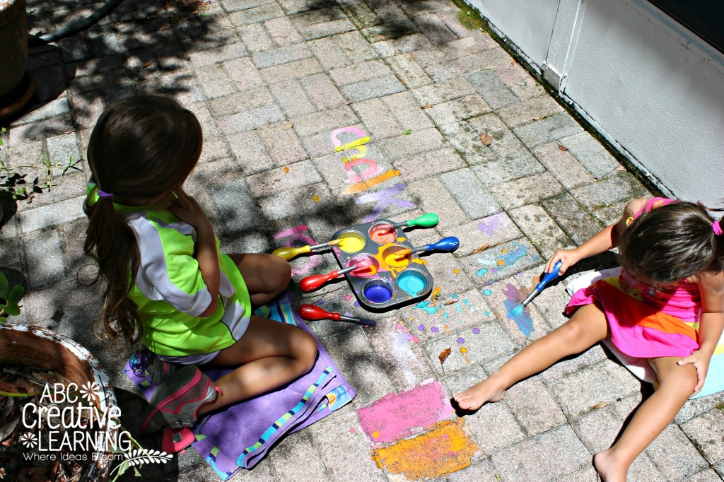 Outside Chalk Painting
