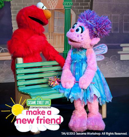 Sesame Street Make a New Friend Elmo and Abby