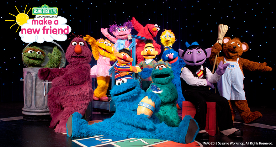 Sesame Street Make a New Friend