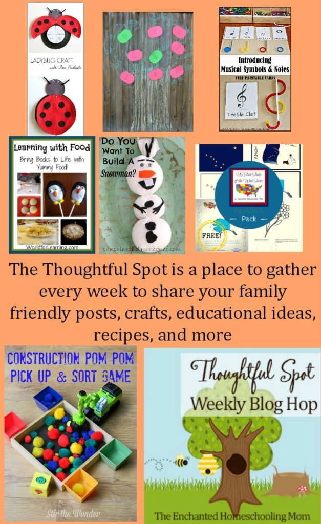 Thoughtful Spot Weekly Blog Hop Park Link Up