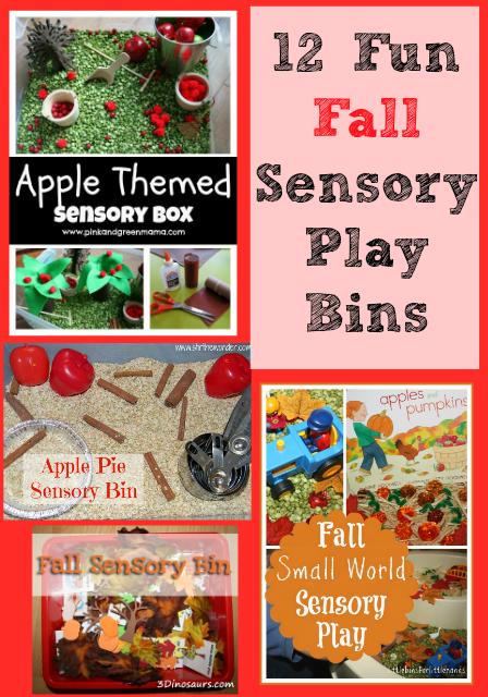12 Fun Fall Sensory Play Bins