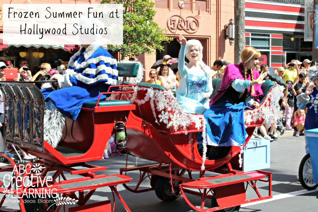 Disneys Frozen at Hollywood Studios