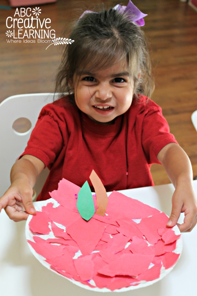 Fun Fall Apple Toddler Craft