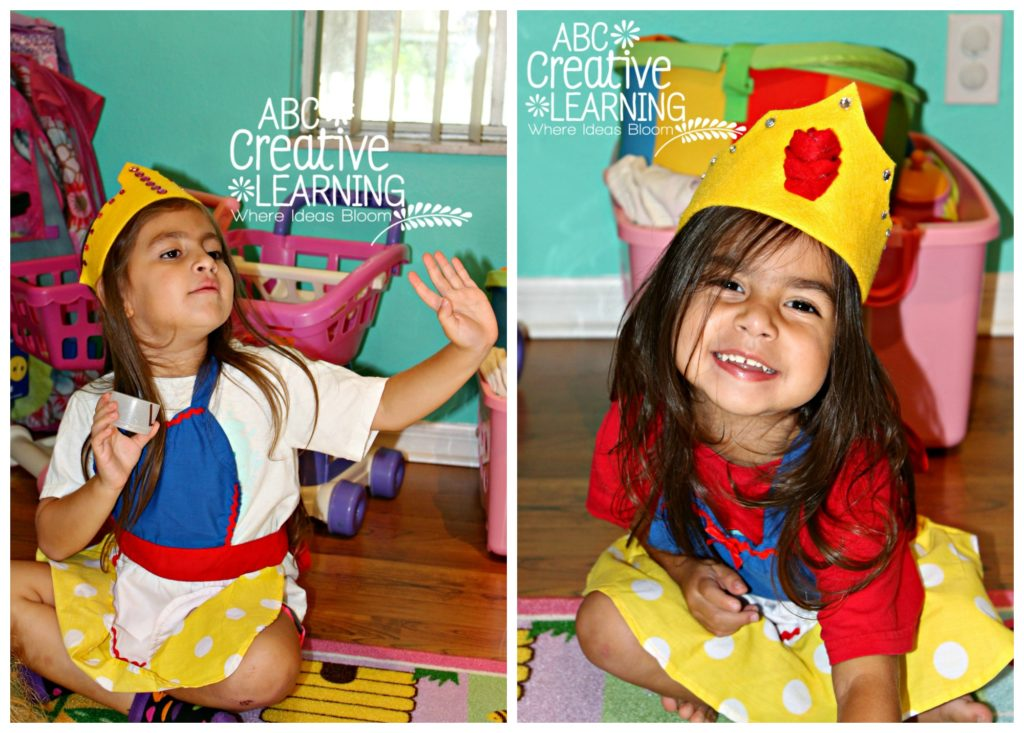 Princess DIY Crown Tutorial