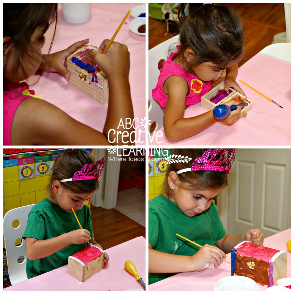 Treasure Chest Pirate Theme Activity