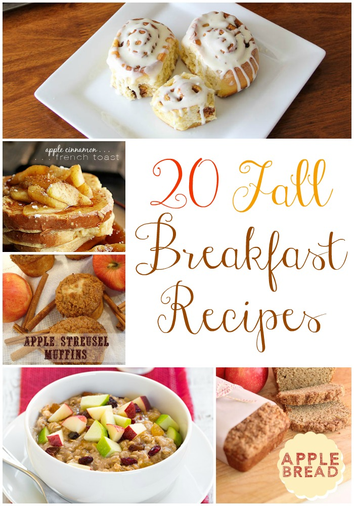 20 Fall Breakfast Recipes