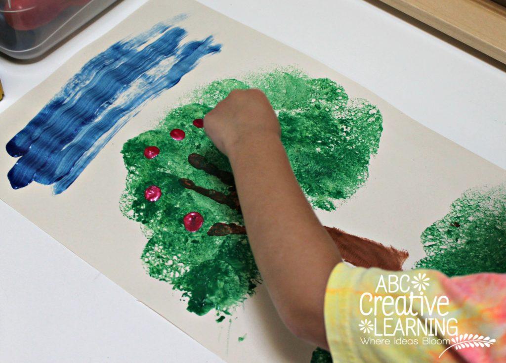 Apple Tree Hand Craft