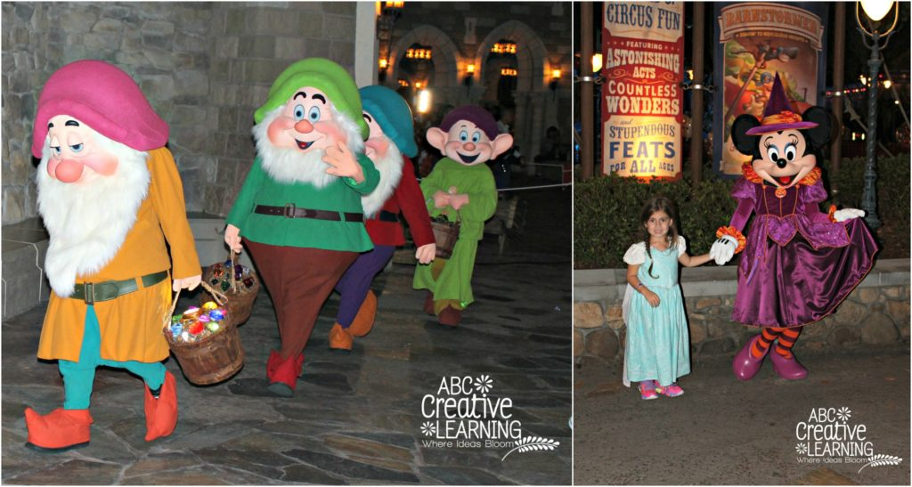 Character Sightings at Mickey's Not So Scary Halloween