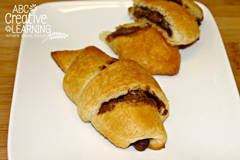 Chocolate Breakfast Croissants