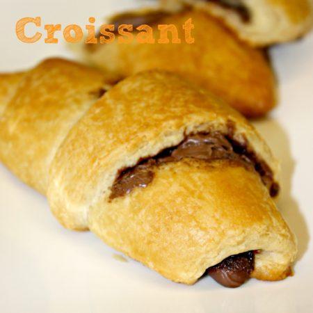 Chocolate Nutella Croissant