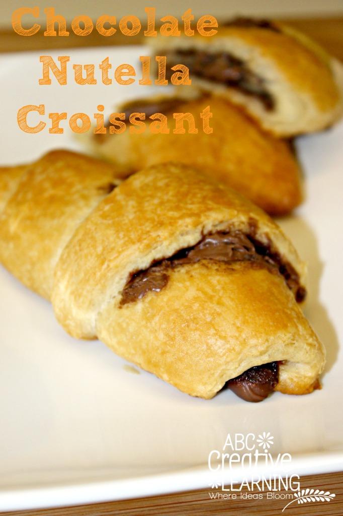 Chocolate Nutella Croissant Recipe