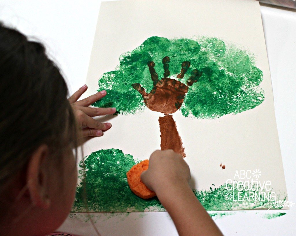 Creating Trees with Sponges