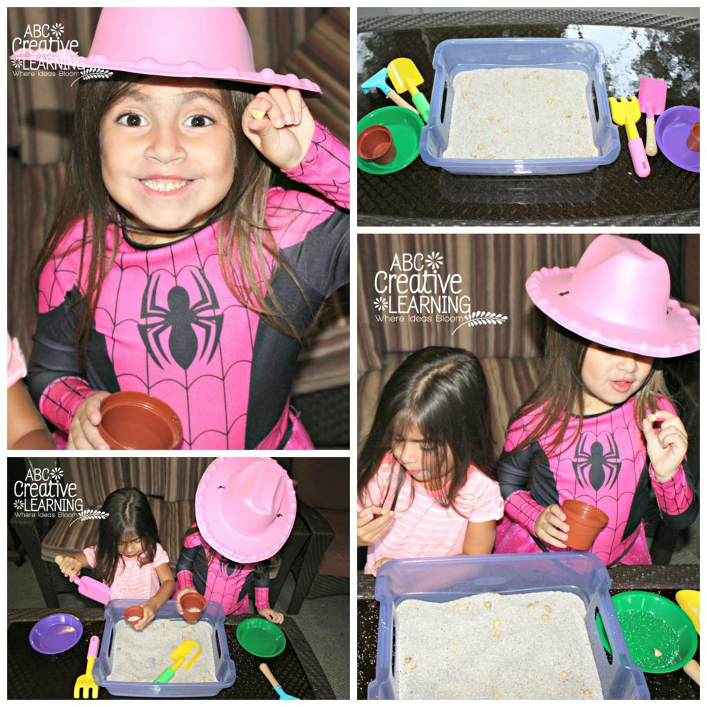 DIY Gold Nuggets Pretend Play Gold Rush