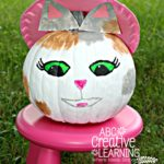 DIY Sheriff Callie Halloween Pumpkin Craft