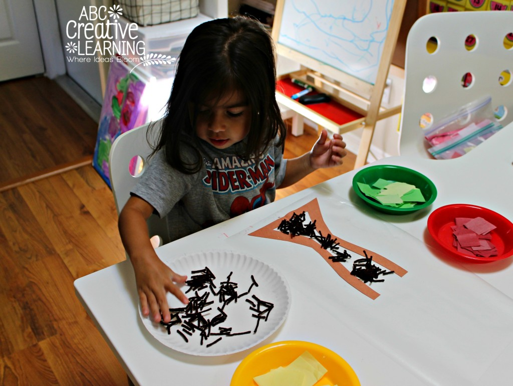 Fine Motor Skills Fall Tree Craft