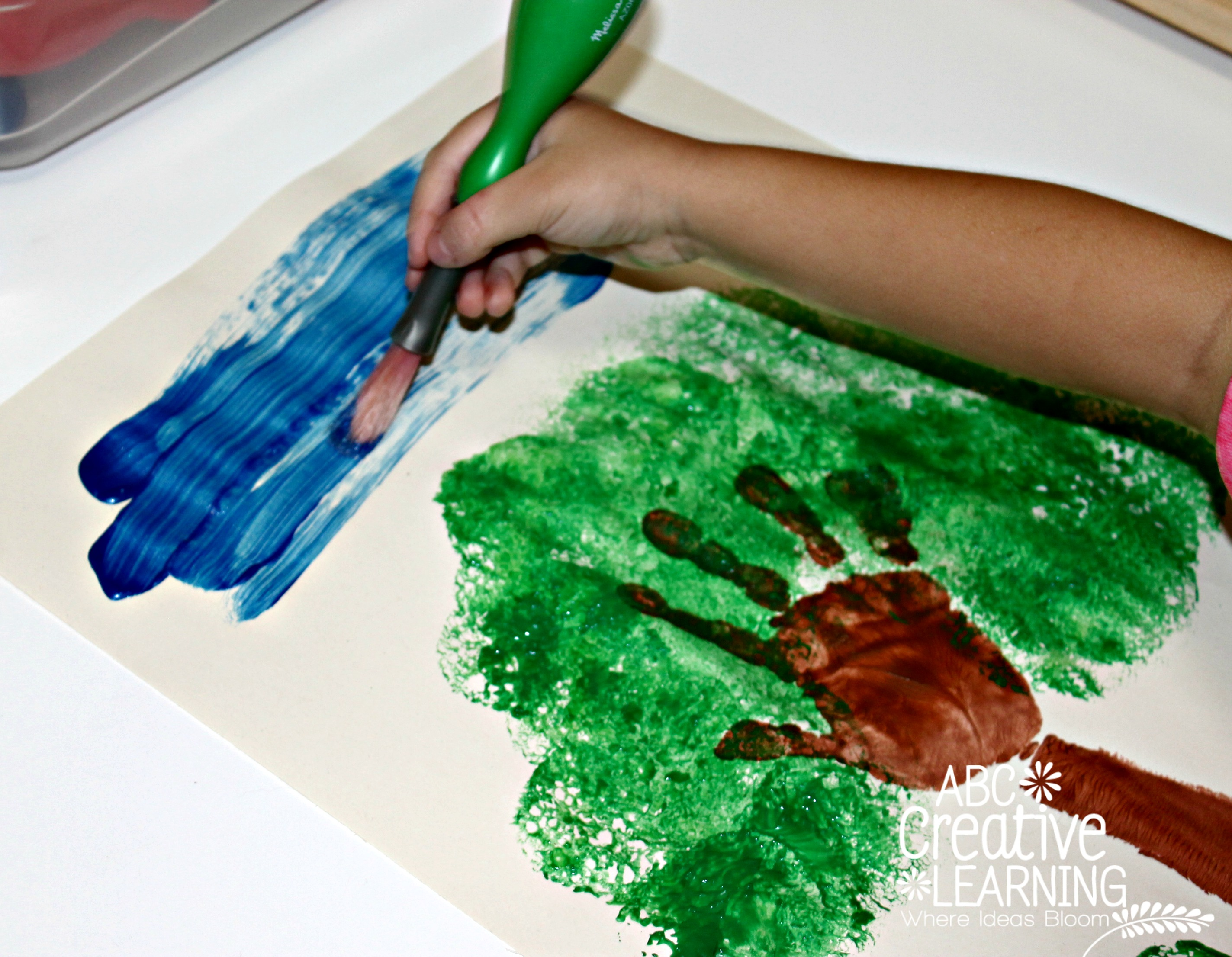 Handprint Apple Tree Kids Craft Simply Today Life