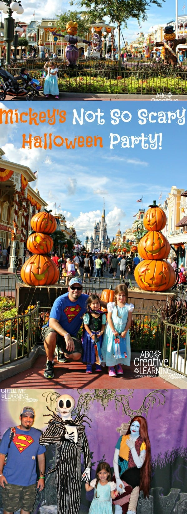 Our First Mickey's Not So Scary Halloween Party