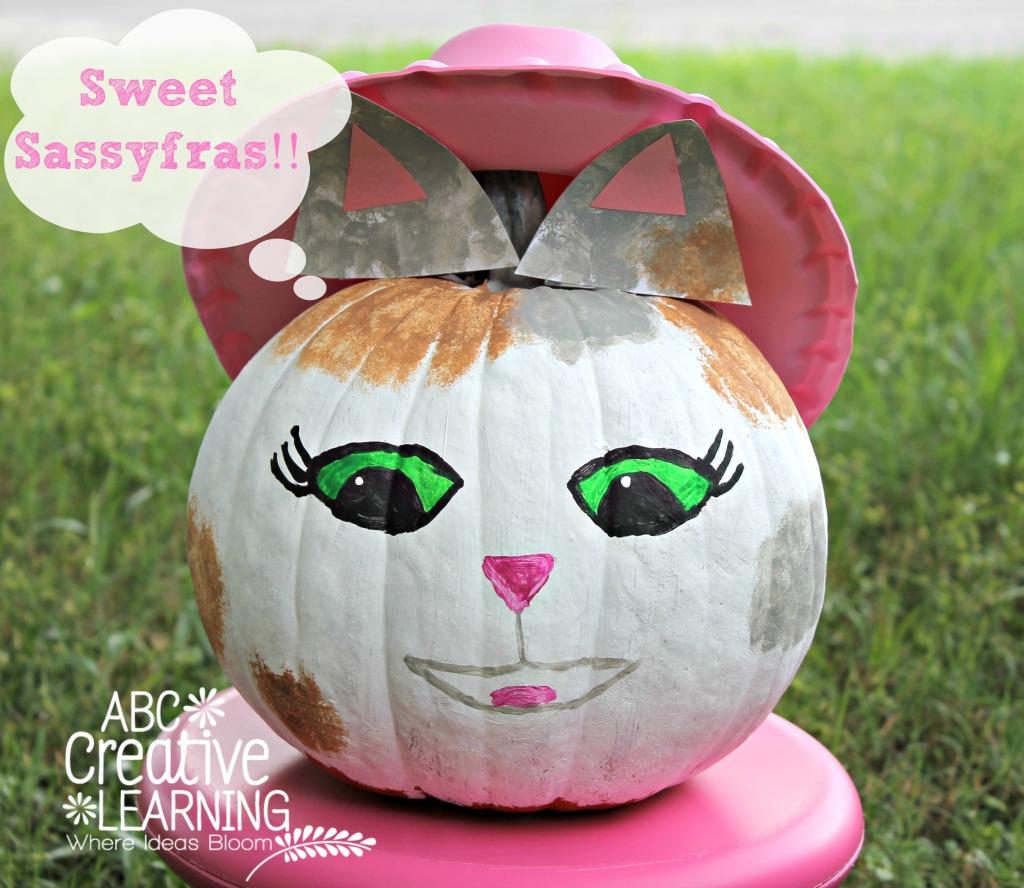 Sweet Sassyfras Sheriff Callie Halloween Pumpkin