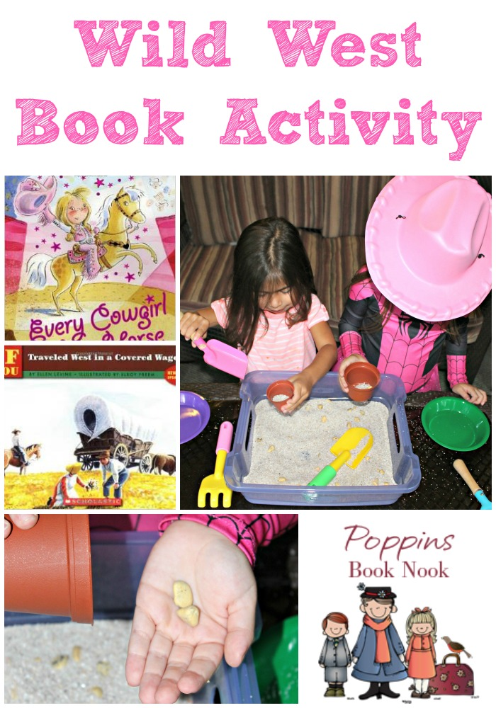 Wild West Book Activity Gold