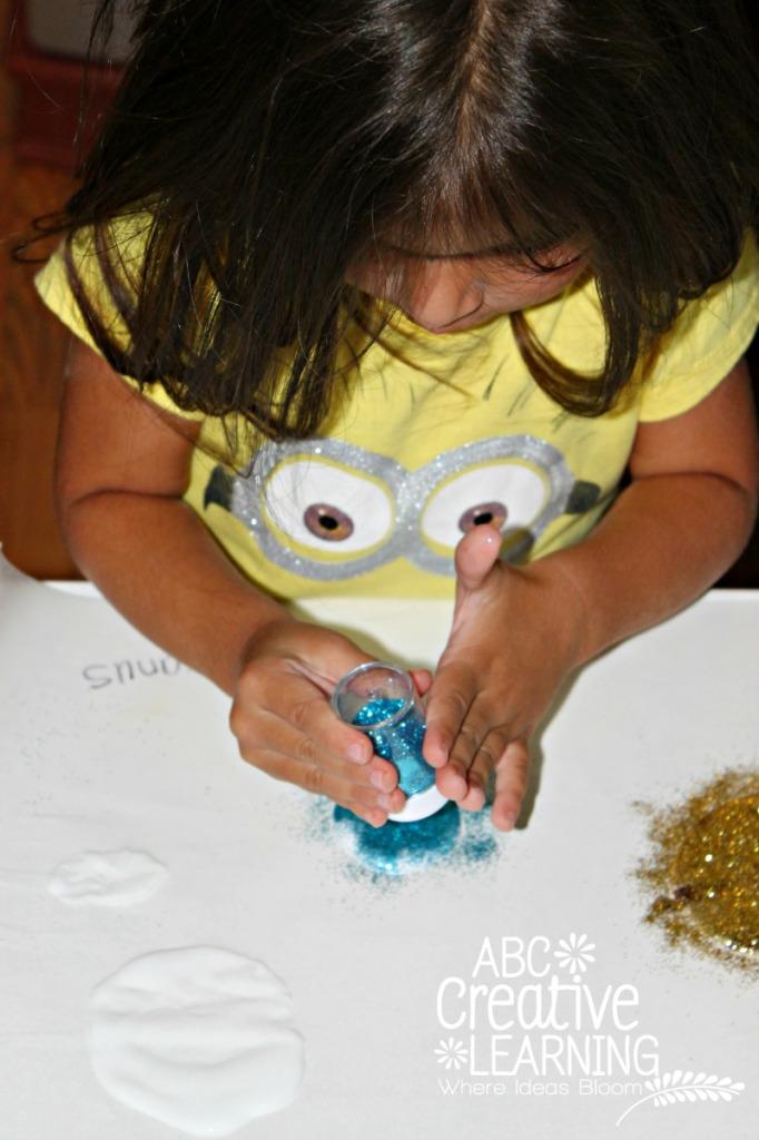Glitter Planets Craft