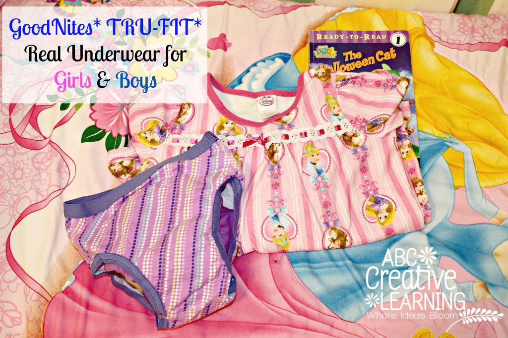 GoodNites TruFit Real Underwear for Girls and Boys