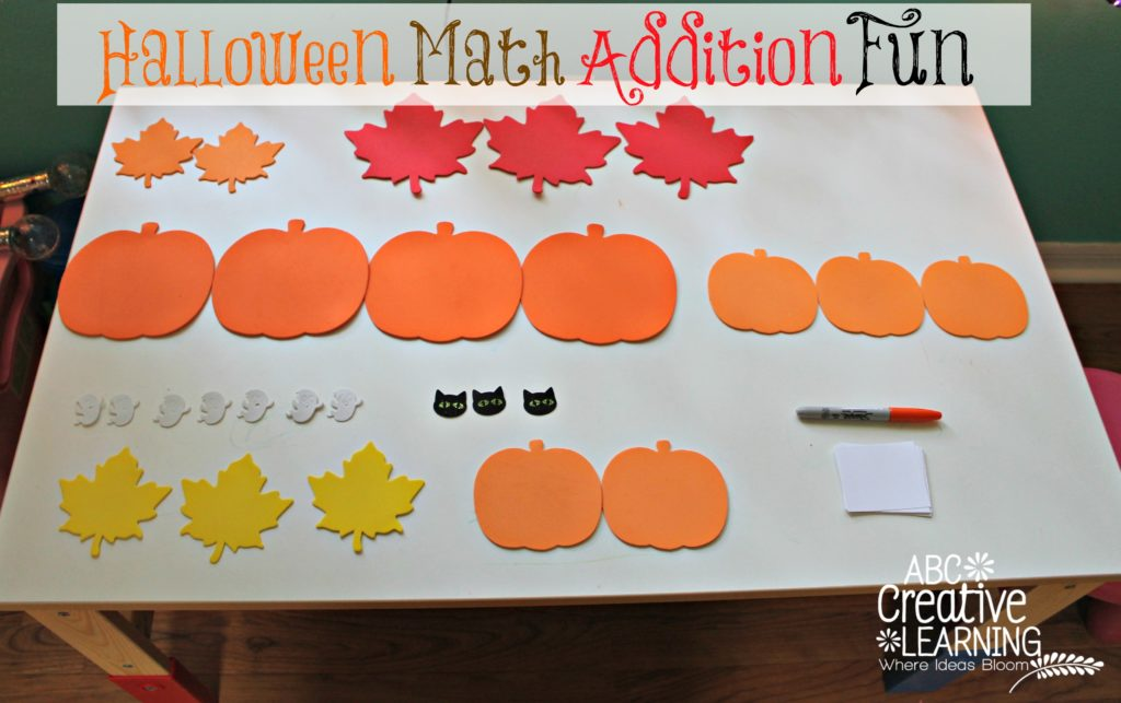 Halloween Math Addition Fun