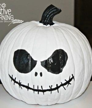 Jack Skellington Halloween Pumpkin DIY