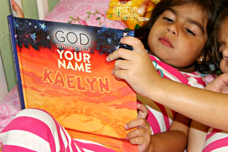 Personalized God Whispered Your Name