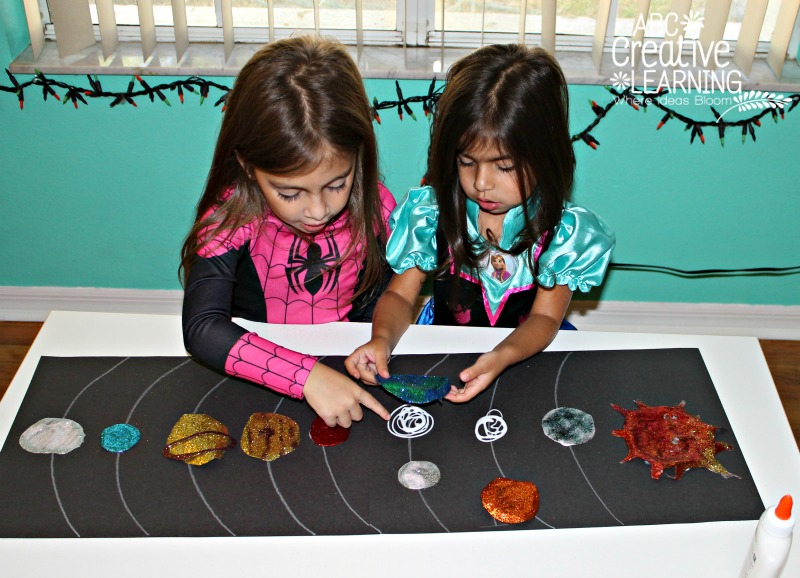 Solar System Kids Arts & Craft