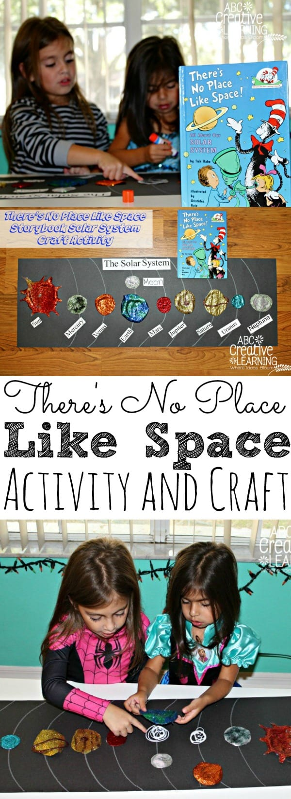 There's No Place Like Space Storybook Activity
