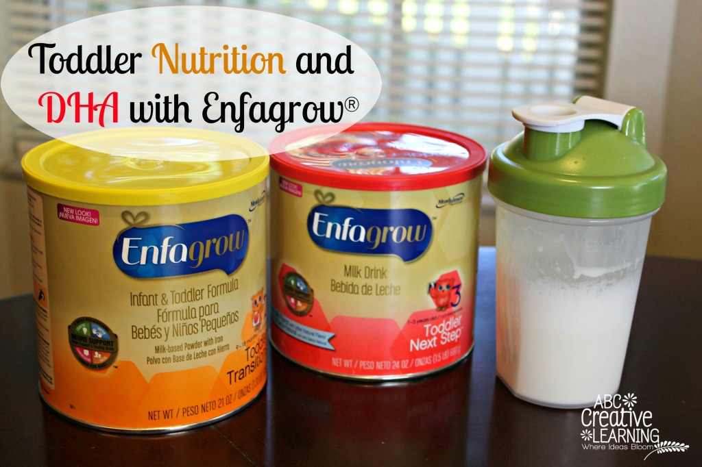 Toddler Nutrition and  DHA with Enfagrow