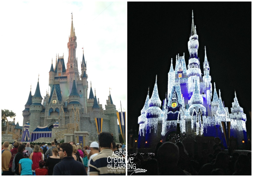 Cinderella's Castle for Mickey's Very Merry Christmas Party