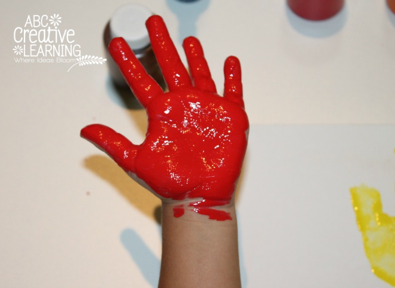 Handprint Craft for Kids