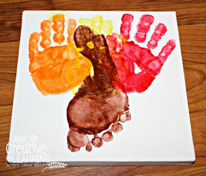 Handprint and Footprint Kids Craft