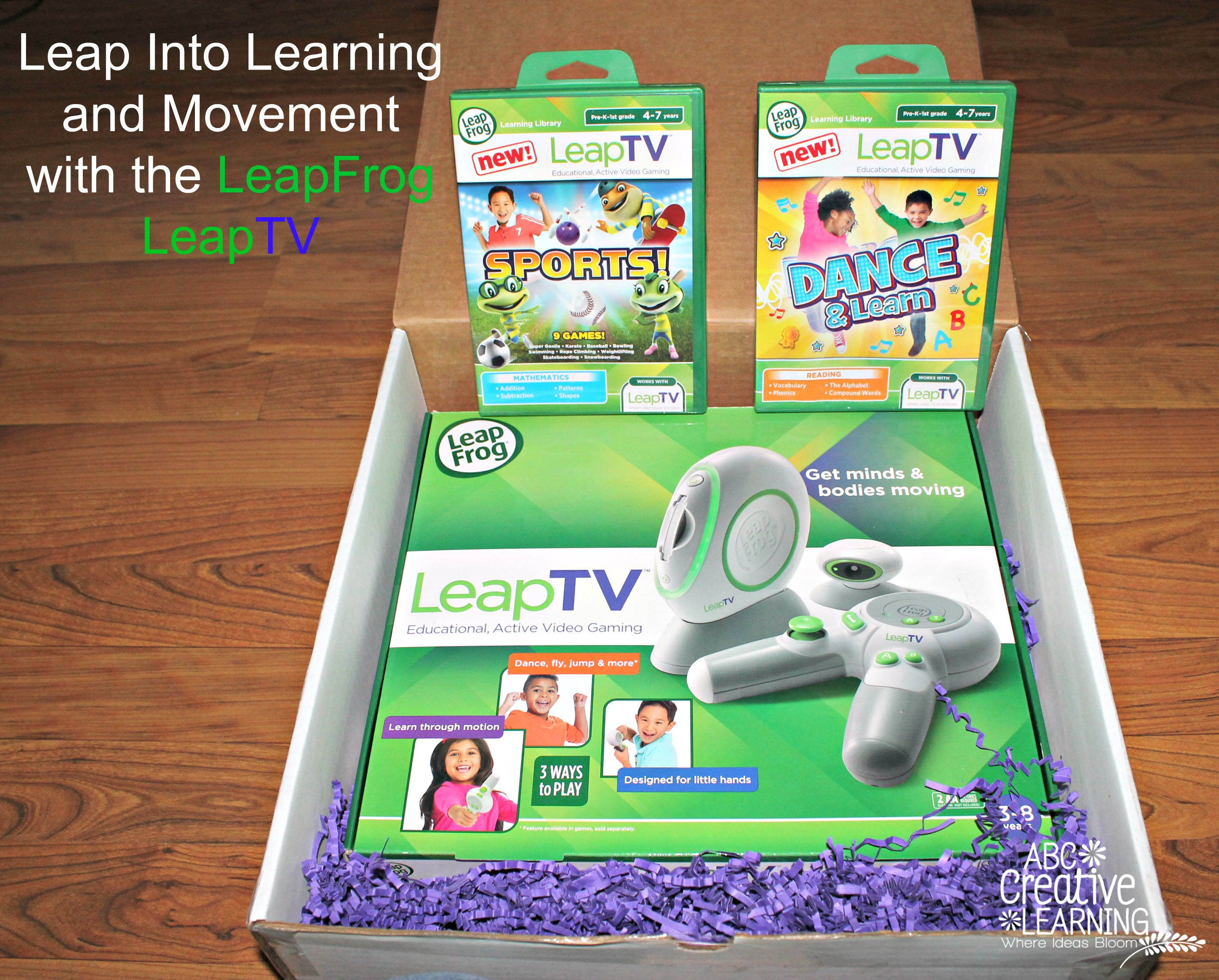 Leap Into Learning and Movement with the LeapFrog #LeapTV