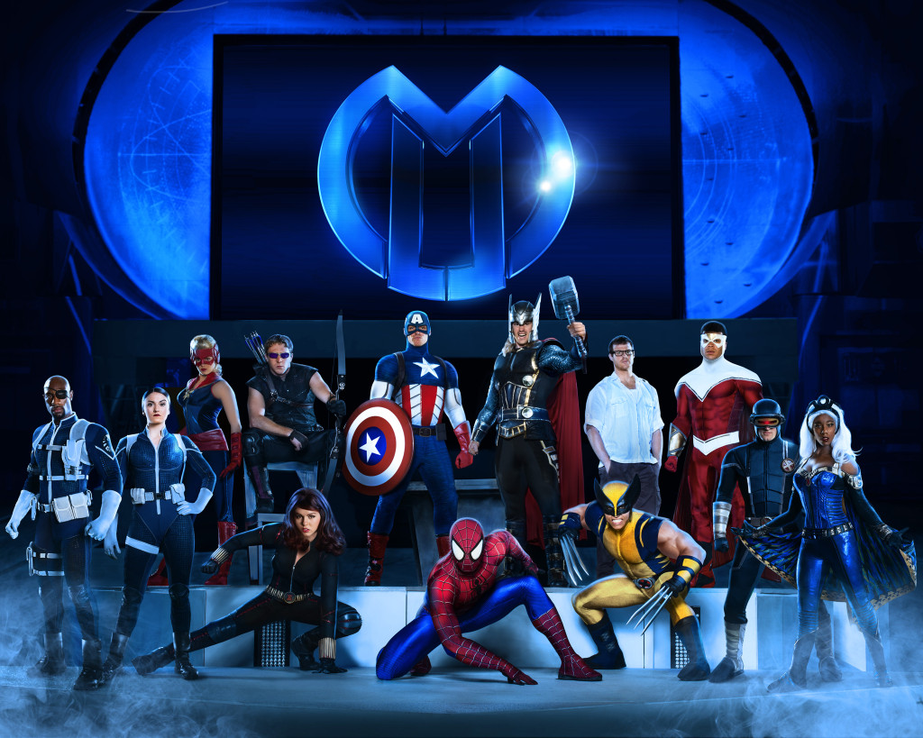 Marvel Universe Live Cast