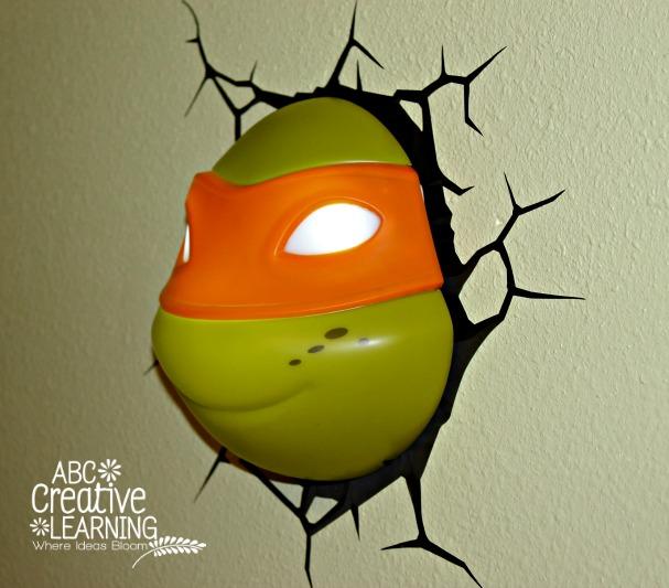 Michelangelo Ninja Turtles 3D Deco Light