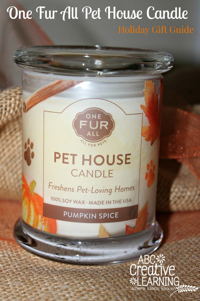 One Fur All Pet House Candle and Giveaway