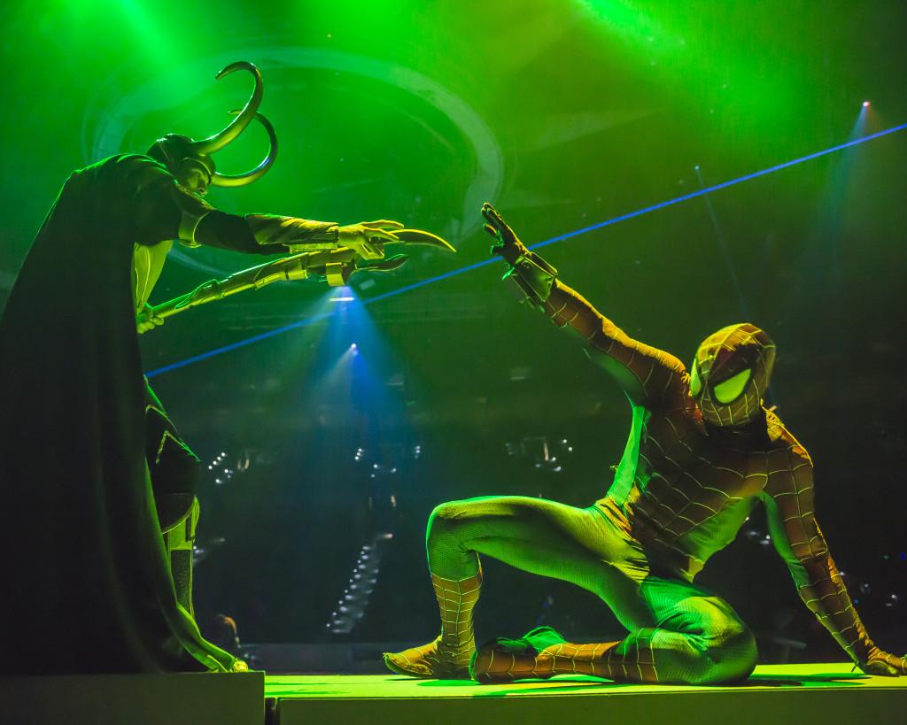 Spider Man Marvel Universe Live